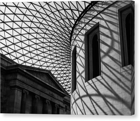 Inside The Gallery Canvas Print