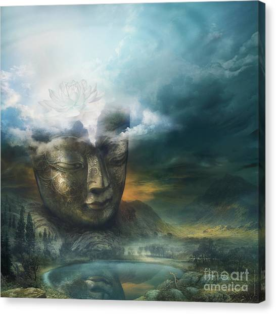 Insight Canvas Print by Silas Toball
