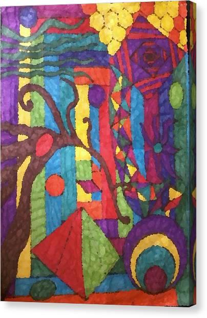 Insomnia 1 Canvas Print by Sarah E Kohara