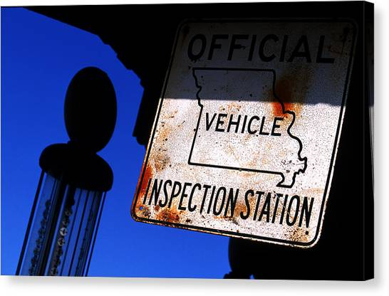 Inspection Station Canvas Print