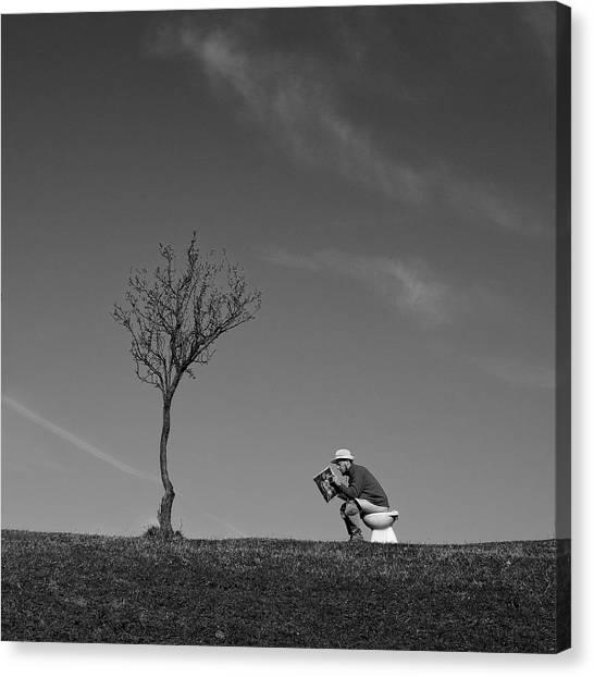 Desolation Canvas Print - Inspiration by Carlo Ferrara