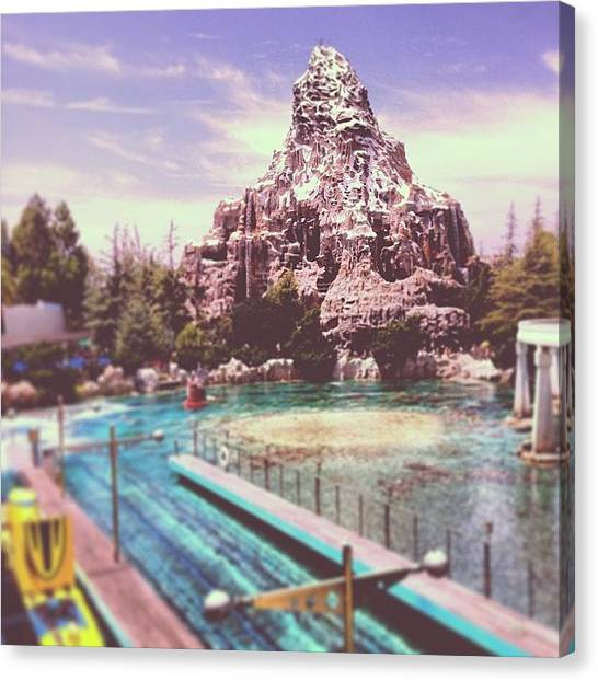 Matterhorn Canvas Print - #inspiration #dreams Can Build by Jenna Broderick
