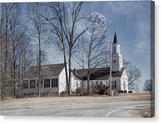 House Of Worship Canvas Print - Inspiration On The Horizon by Betsy Knapp