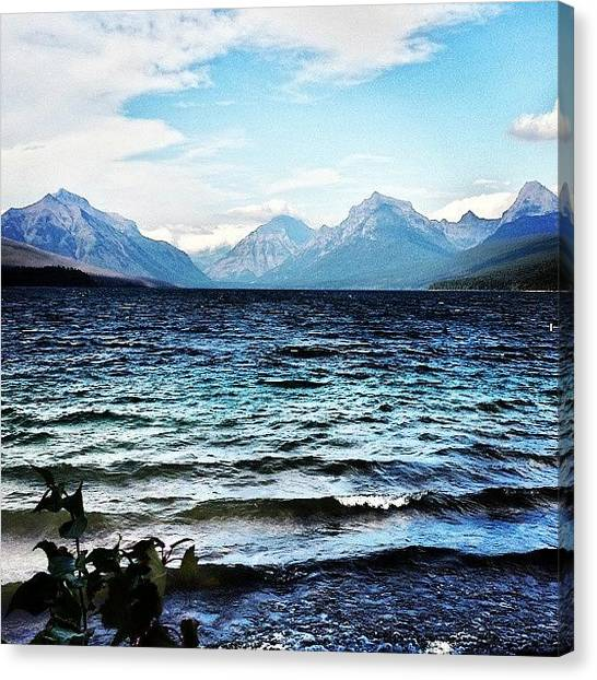 Glaciers Canvas Print - #instagood #love #glacier by Aaron Heberly
