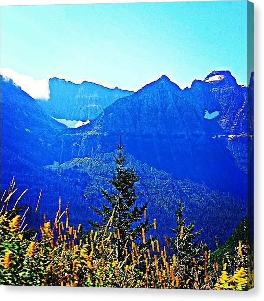 Glaciers Canvas Print - #instagood #love #mountain #glacier by Aaron Heberly
