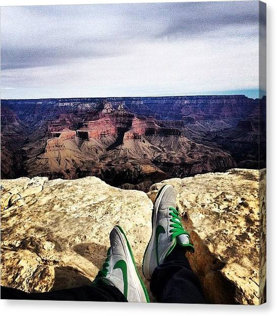 Grand Canyon Canvas Print - Instagram Photo by Dylan Stutts
