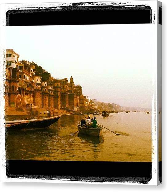 Ganges Canvas Print - Instagram Photo by Eddie Obo