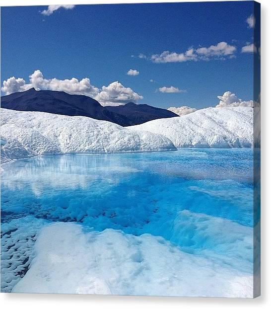 Glaciers Canvas Print - Instagram Photo by Jeff Miles