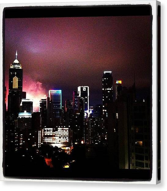 Hong Kong Canvas Print - Instagram Photo by Laurie H