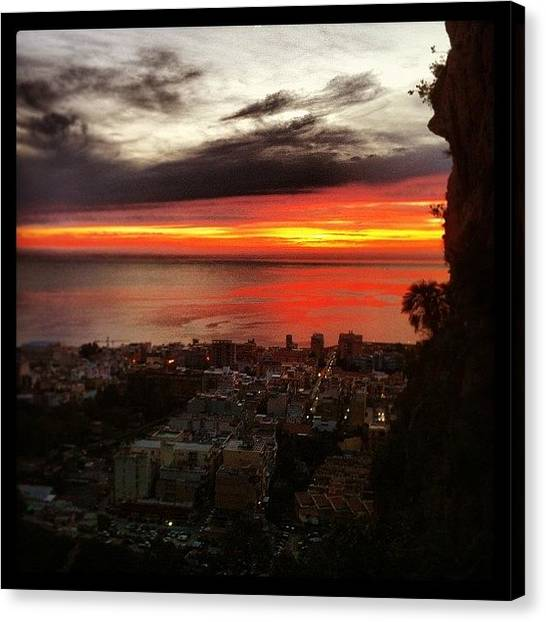 Lava Canvas Print - Instagram Photo by Peppe Galante
