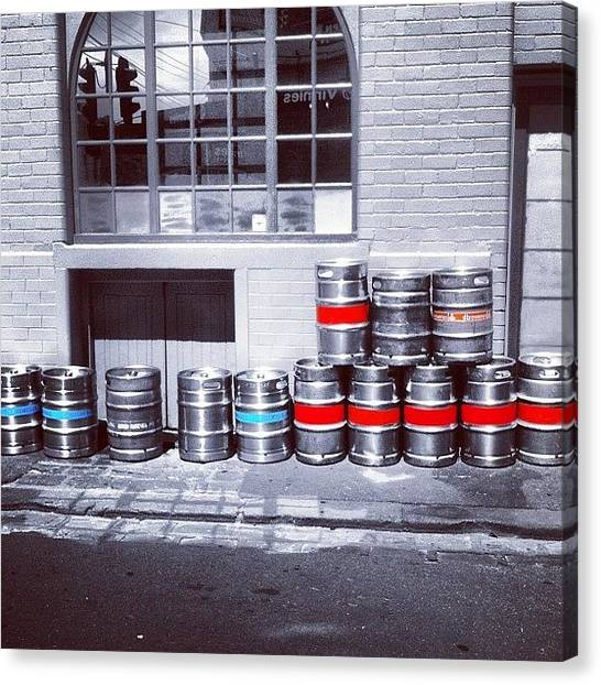 Keg Canvas Print - #instagramhub #ignation #igersoftheday by Brad James