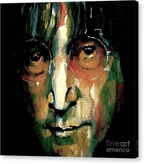 John Lennon Canvas Print - Instant Karma by Paul Lovering