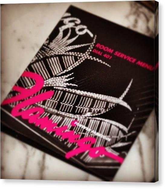 Flamingos Canvas Print - #instaprints #flamingo #instahub by Jamie Brown