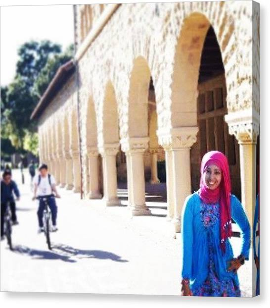 Stanford University Canvas Print - #instaprints #insta4fun #instagram by Ariel Muttaqin