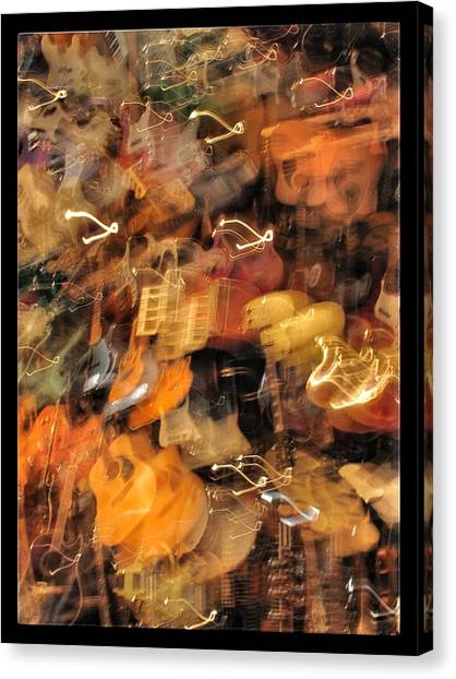 Instrument Abstract  Canvas Print by Edward Hamm