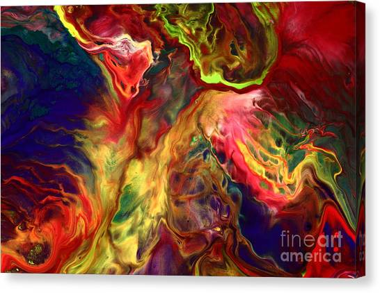 Intense Emotions Contemporary Abstract Canvas Print
