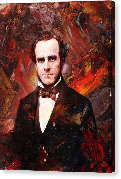 Historical Canvas Print - Intense Fellow 2 by James W Johnson