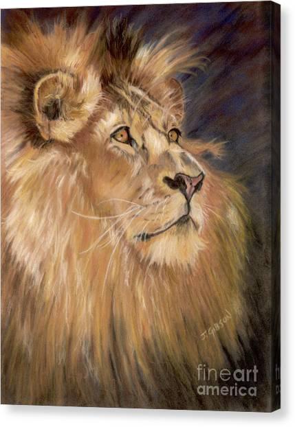 Intense Pride Canvas Print by Jan Gibson