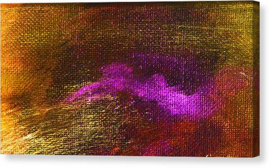 Intensity Golden Hue Canvas Print by L J Smith