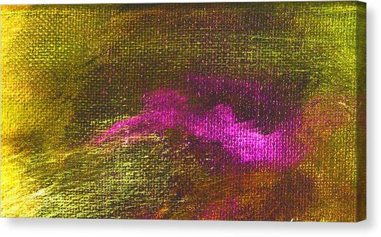 Intensity Yellow Pink Hue Canvas Print by L J Smith
