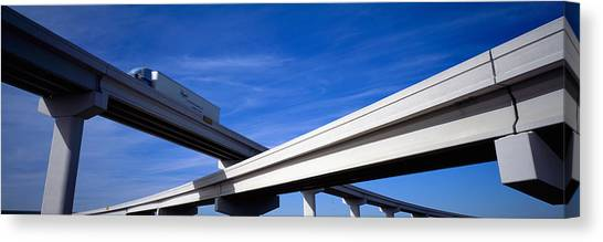 Interstates Canvas Print - Interchange, Texas, Usa by Panoramic Images