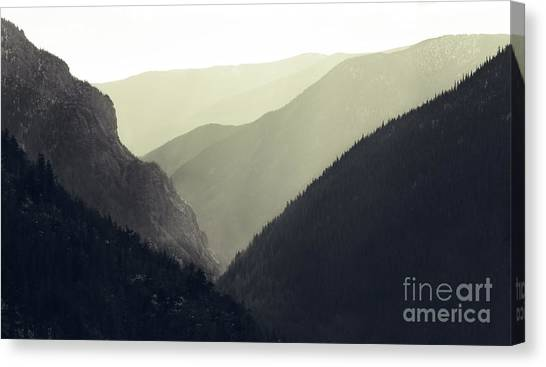 Interleaving Giants Canvas Print