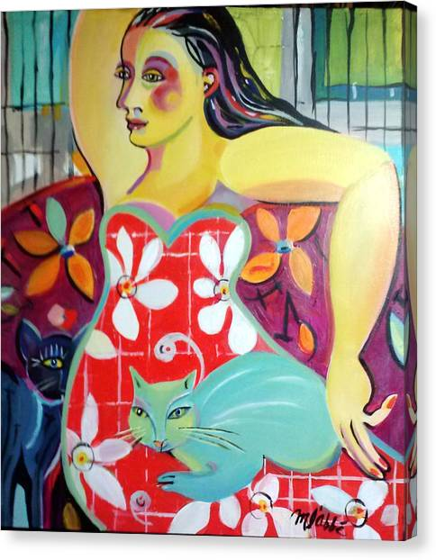 Interlude Canvas Print by Marlene LAbbe