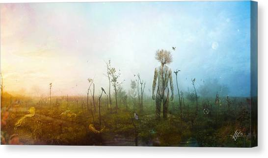 Surreal Canvas Print - Internal Landscapes by Mario Sanchez Nevado