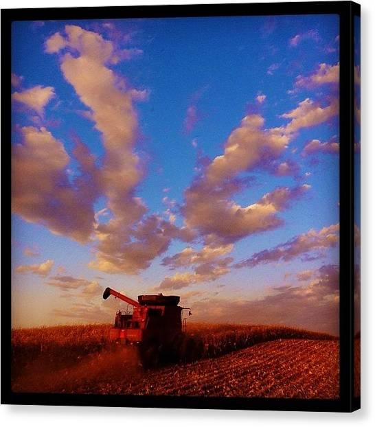 Iowa Canvas Print - International Harvestor by Spencer Neuberger
