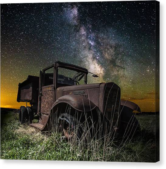 International Milky Way Canvas Print