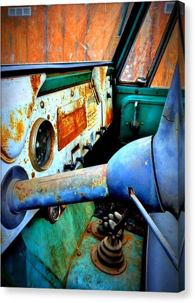 International Scout Interior Canvas Print