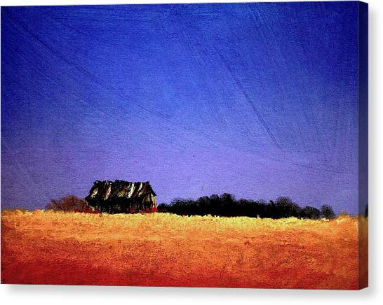 Interstate Landscape #1 Canvas Print