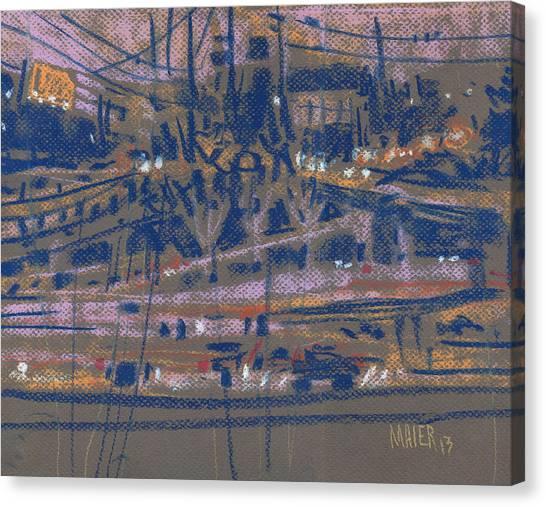 Interstates Canvas Print - Interstate Seventy Five by Donald Maier