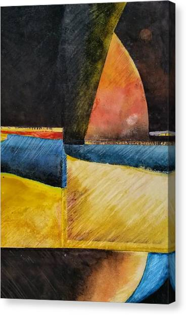 Beyond Canvas Print by Barbara  Rhodes