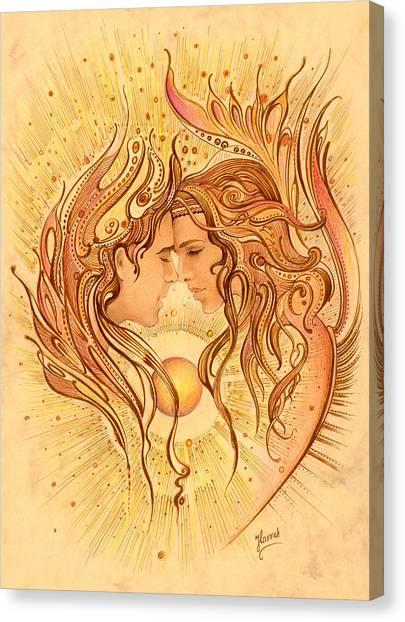 Intimacy Canvas Print