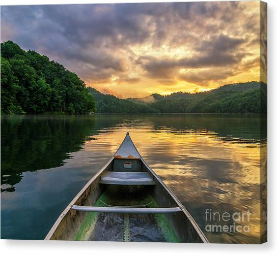 Into The Calm Canvas Print