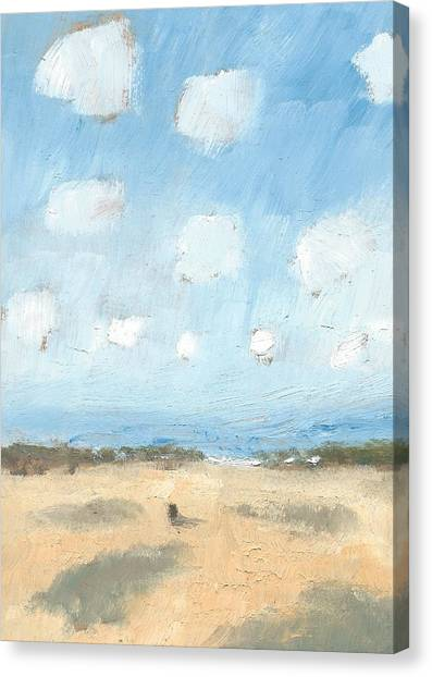 Into The Distance Part Nine Canvas Print by Alan Daysh