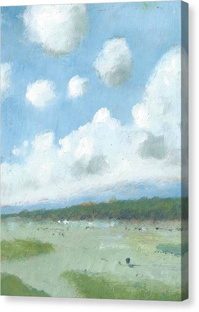 Into The Distance Part Three Canvas Print by Alan Daysh