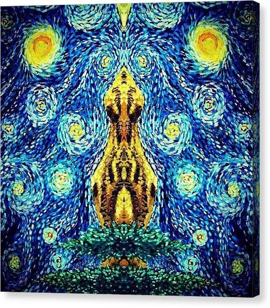 Into The Heavens Canvas Print by Sebastian Pierre
