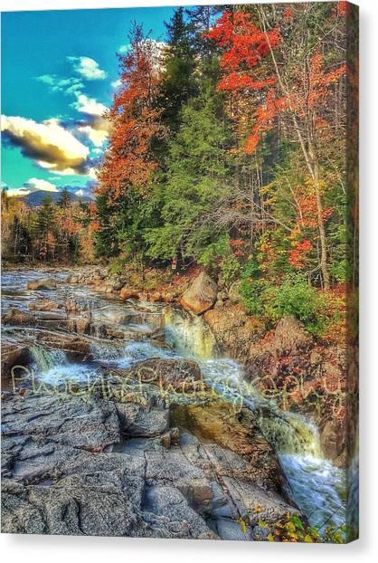 John Adams Canvas Print - Waterfall by John Adams