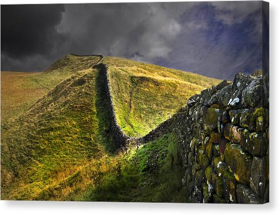 Into The Past Canvas Print