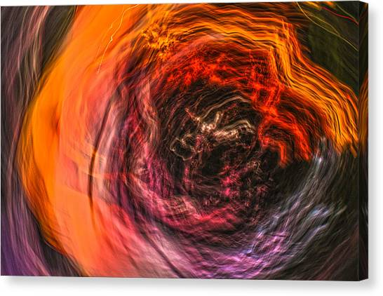 Into The Void Canvas Print by Steve Belovarich