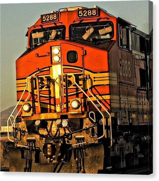 Locomotive Canvas Print - Into The West ~ Corron Xtrillion by Glen Campbell