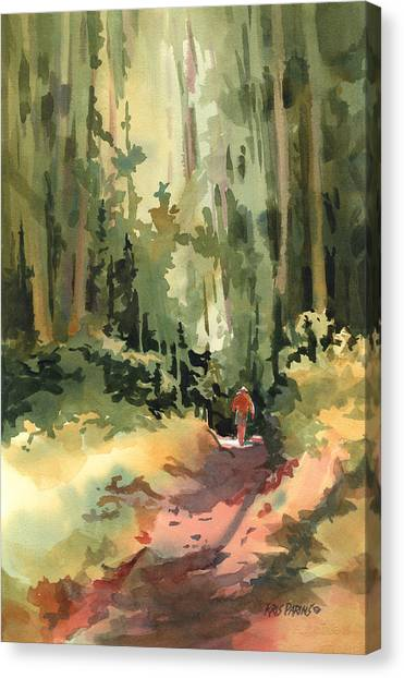 Mother Figure Canvas Print - Into The Wild by Kris Parins