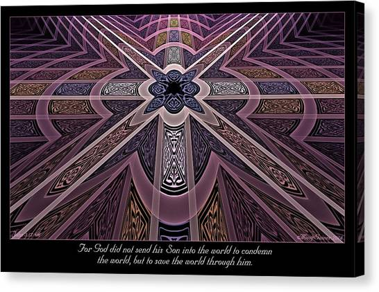 Into The World Canvas Print