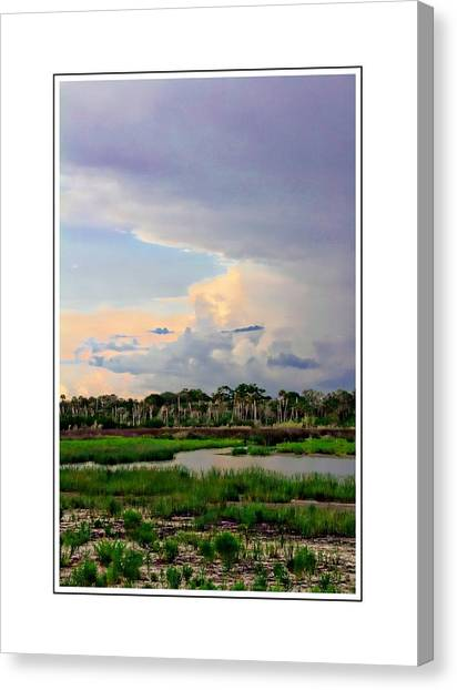 Intracoastal Colours Canvas Print