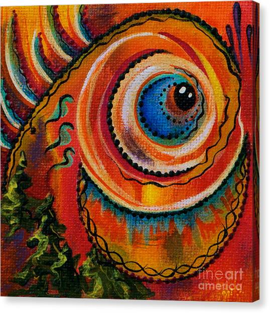 Intuitive Spirit Eye Canvas Print