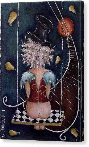 Inusual Canvas Print by Belen Jauregui