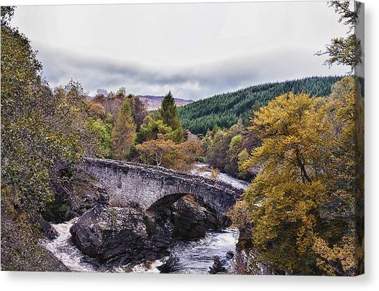 Invermoriston Bridge Canvas Print