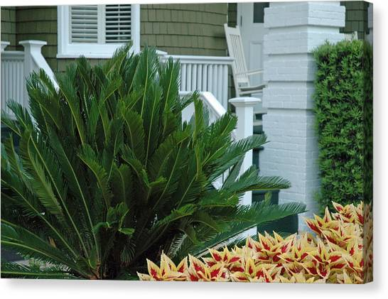 Inviting Front Porch Canvas Print